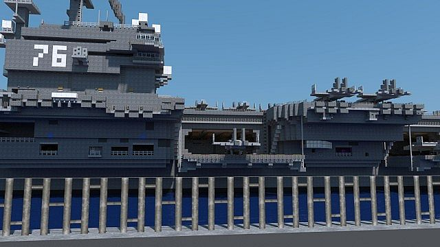 minecraft us battleship map