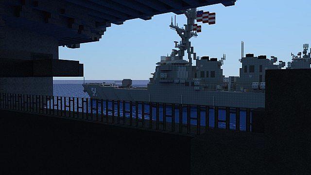 carrier strike group batttleships ships minecraft building ideas ocean sea 6