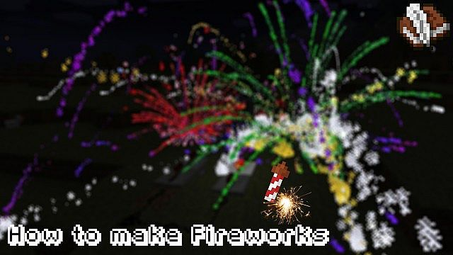 Photo of How to make Fireworks in Minecraft 1.6.2!