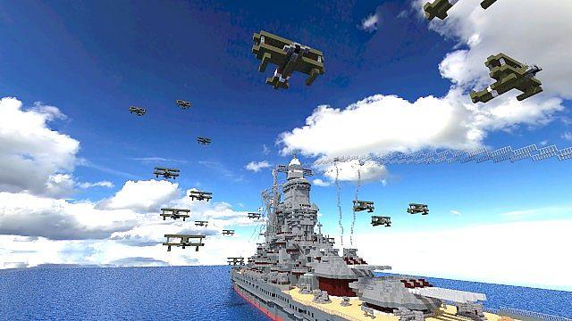 Battleship [ Umi Hime ] minecraft build 3