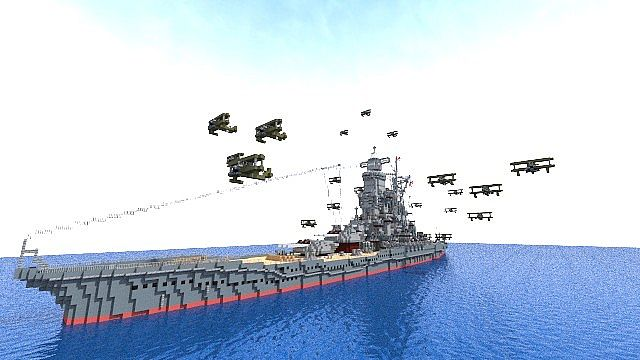 Battleship [ Umi Hime ] minecraft build 4
