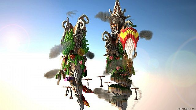 Corckscrew Island World Minecraft ideas 2