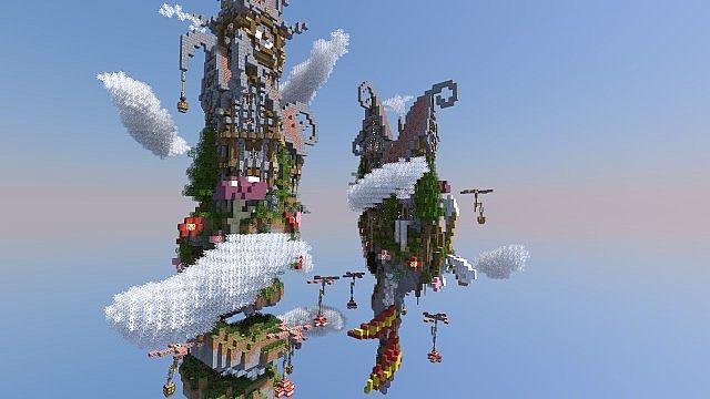 Corckscrew Island World Minecraft ideas 3