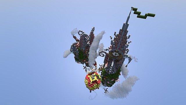 Corckscrew Island World Minecraft ideas 5