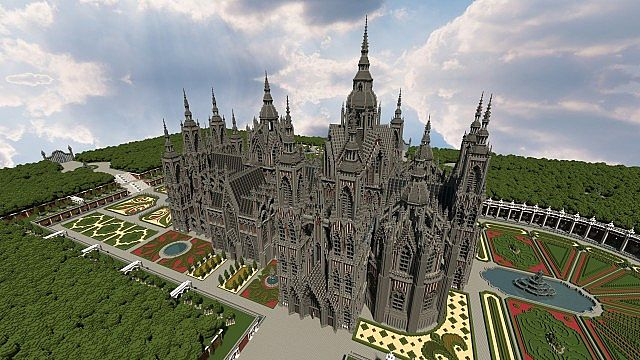 Ecclesia darii Minecraft castle ideas 10
