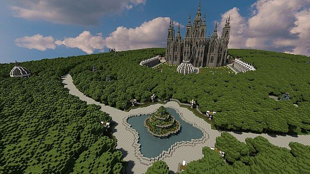 Ecclesia darii Minecraft castle ideas 12