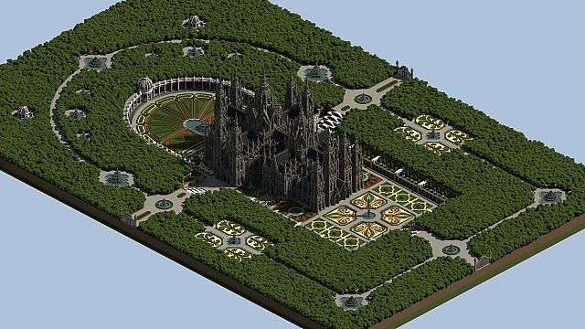 Ecclesia darii Minecraft castle ideas 13