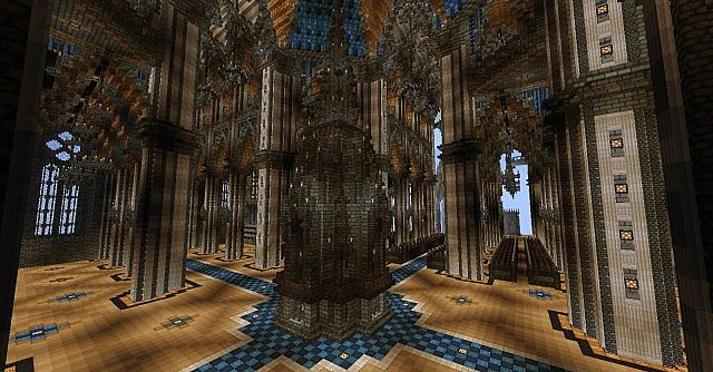Ecclesia darii Minecraft castle ideas 14