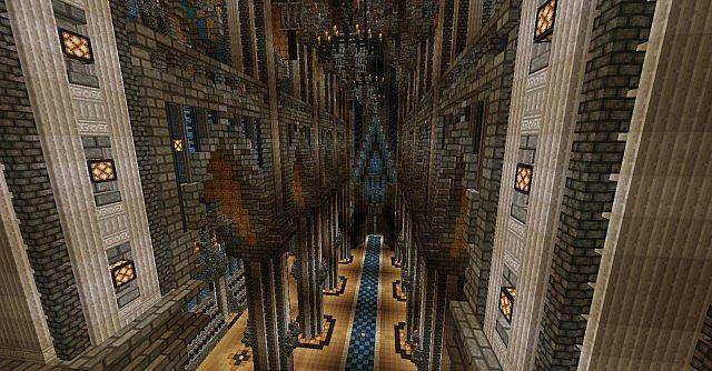 Ecclesia darii Minecraft castle ideas 16