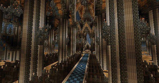 Ecclesia darii Minecraft castle ideas 17