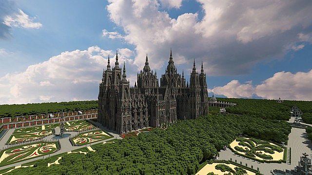 Ecclesia darii Minecraft castle ideas 2