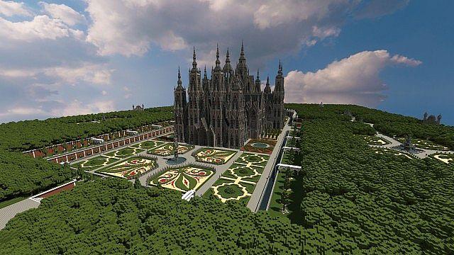 Ecclesia darii Minecraft castle ideas 3