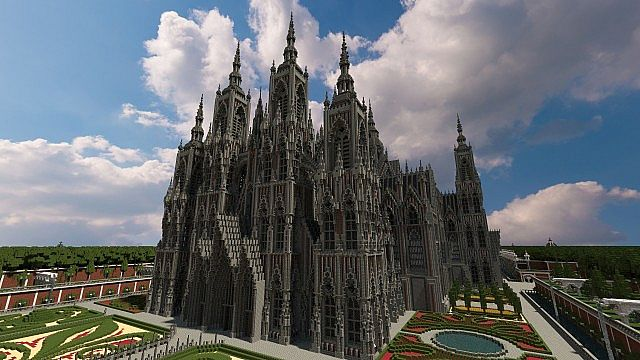 Ecclesia darii Minecraft castle ideas 4
