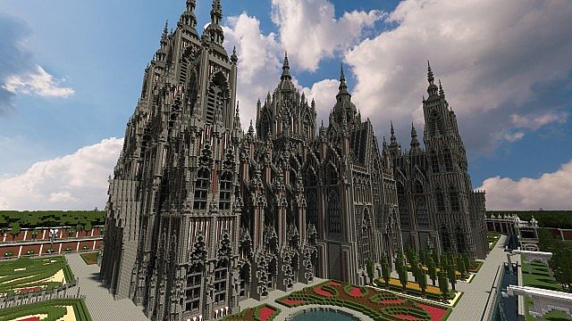 Ecclesia darii Minecraft castle ideas 5