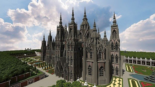 Ecclesia darii Minecraft castle ideas 6