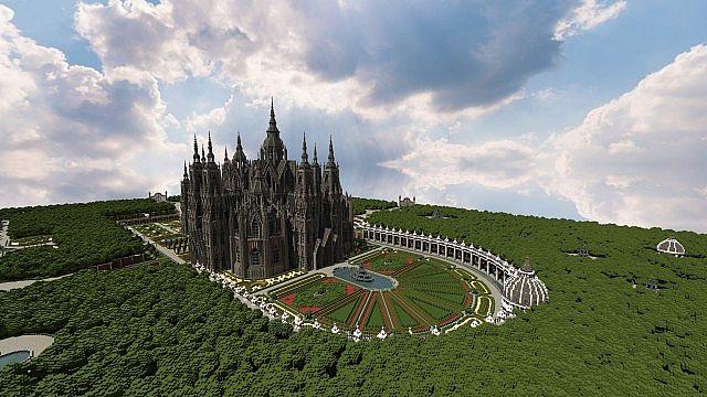 Ecclesia darii Minecraft castle ideas 7