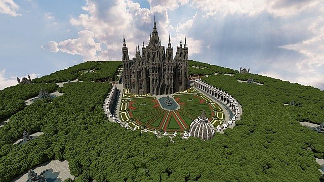 Ecclesia darii Minecraft castle ideas 8