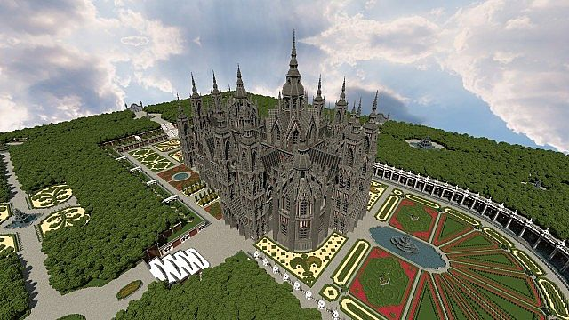 Ecclesia darii Minecraft castle ideas 9
