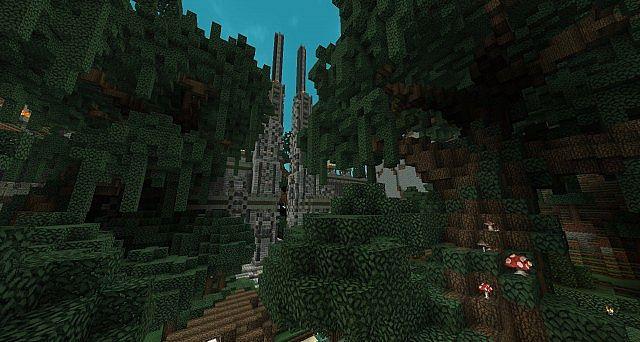 Forgotten Ascent - Parkour Map by FyreUK minecraft 3