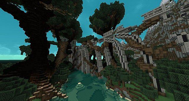 Forgotten Ascent - Parkour Map by FyreUK minecraft 5