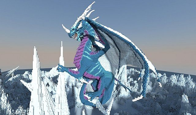 Frostbite - Dragons Nest Project Minecraft ideas 2