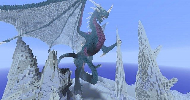 Frostbite – Dragons Nest Project – Minecraft Building Inc