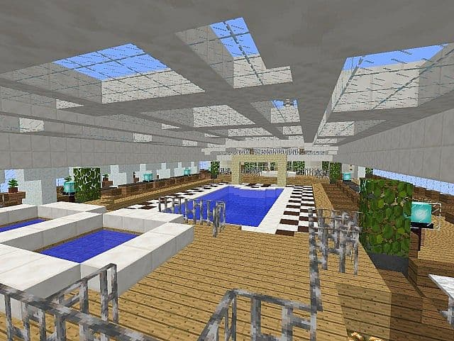 MS Eurodam Cruise Ship 1 to 1 Scale building ideas minecraft sea 10