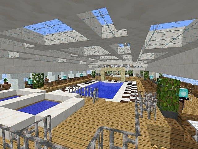 MS Eurodam Cruise Ship 1 to 1 Scale building ideas minecraft sea 10