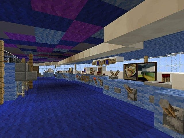 MS Eurodam Cruise Ship 1 to 1 Scale building ideas minecraft sea 6