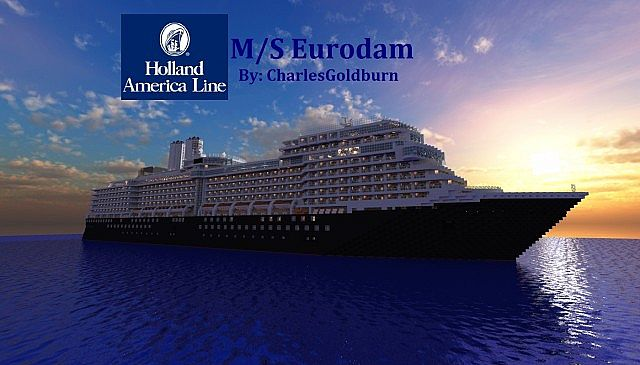 Photo of M/S Eurodam Cruise Ship 1:1 Scale [Real-Ship]