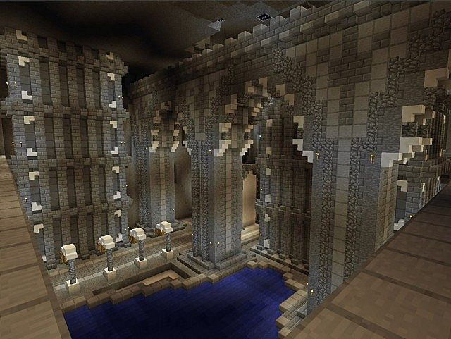 Medieval Castle and Village minecraft building ideas 6