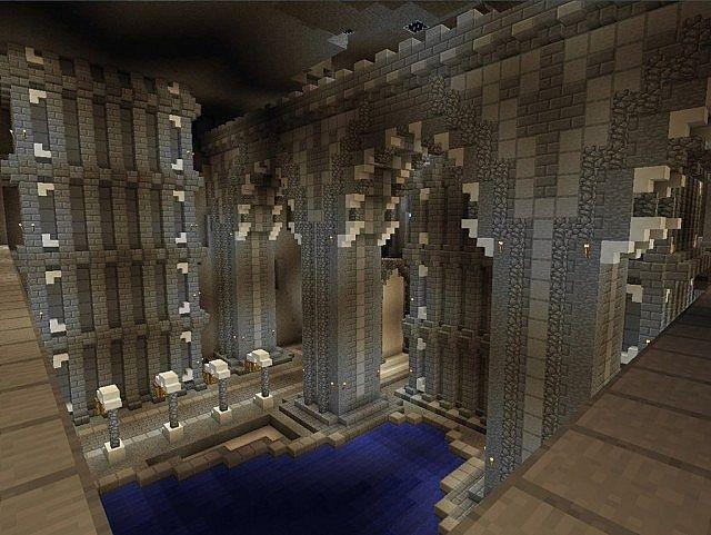Medieval Castle and Village minecraft building ideas 6