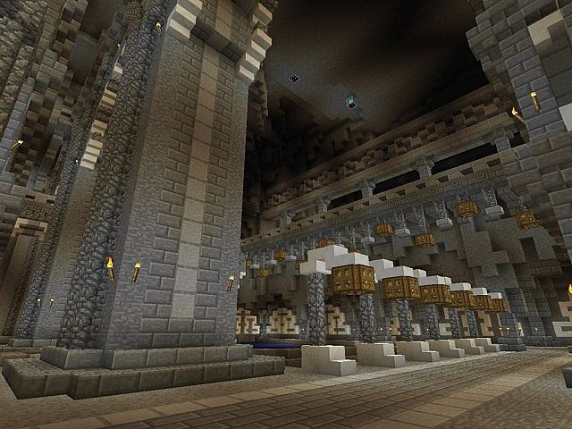 Medieval Castle And Village Minecraft Building Ideas 7