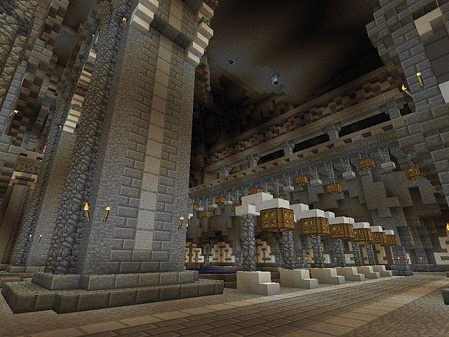Medieval Castle and Village minecraft building ideas 7