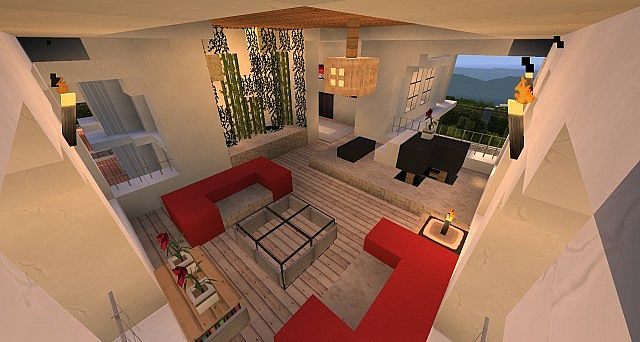 Minecraft House Hollywood Style Build 2