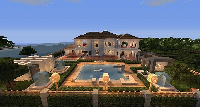 Minecraft House Hollywood Style Build 3
