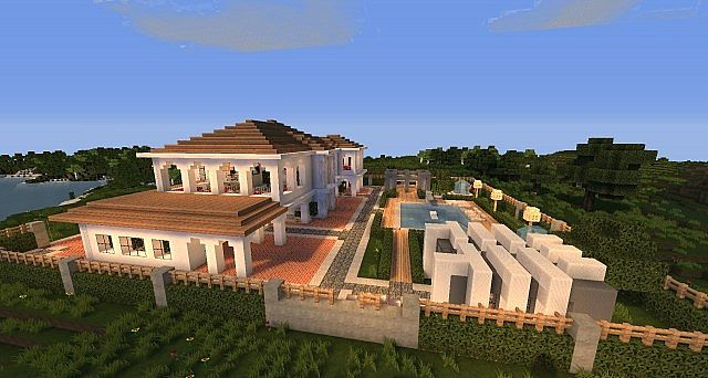 Minecraft House Hollywood Style Build 4