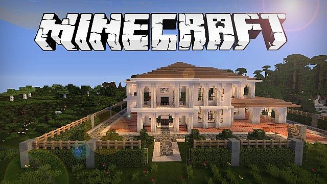Minecraft House Hollywood Style Build