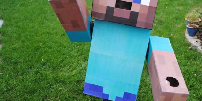 Minecraft Steve Costume – Minecraft Building IncSteve Minecraft Costume Party City