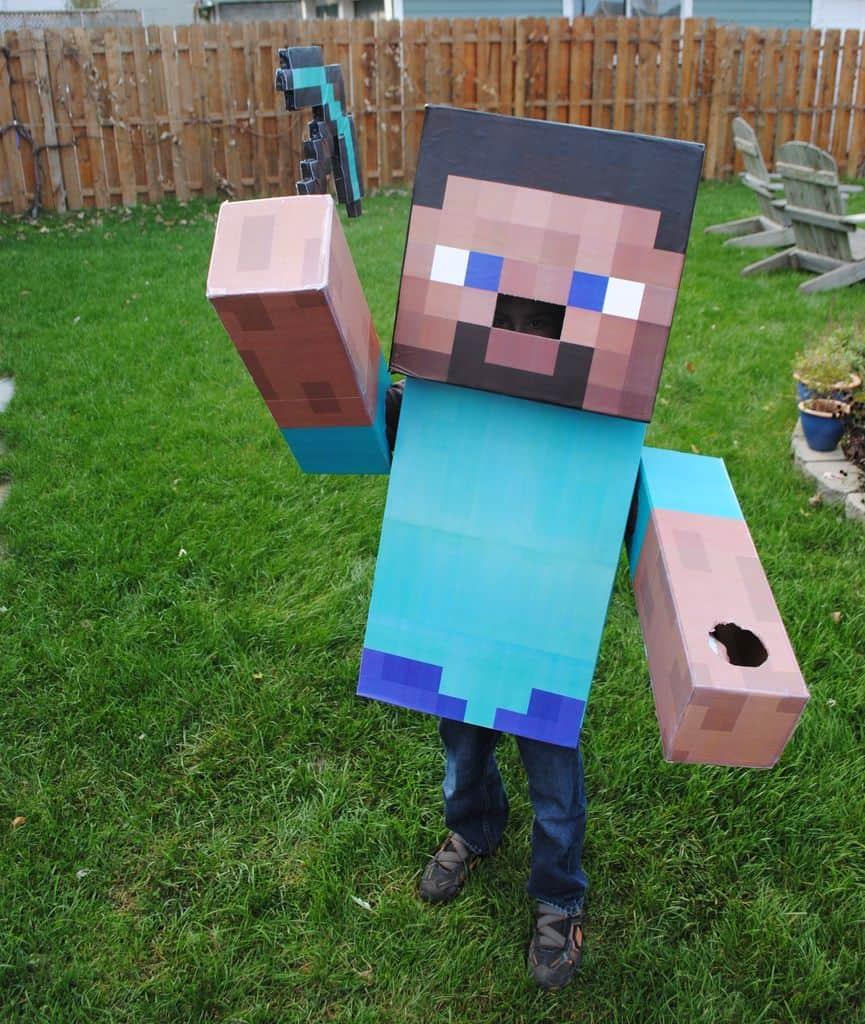 Photo of Minecraft Steve Costume