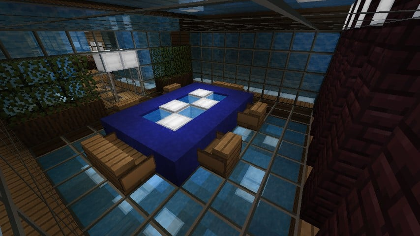 Modern Resort House minecraft building 11