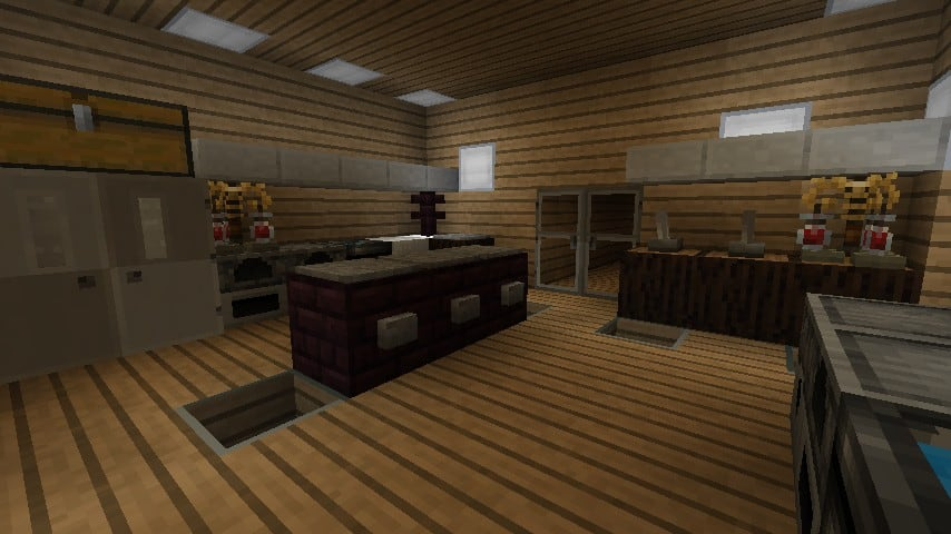 Modern Resort House minecraft building 12