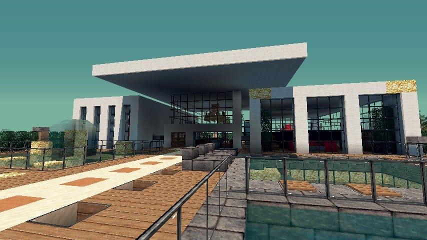 Modern Resort House minecraft building