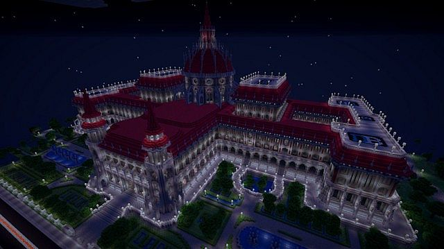 Neo's Parliament government minecraft build office ideas 3