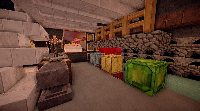 Pigonge's Contemporary Survival House 3 minecraft 10