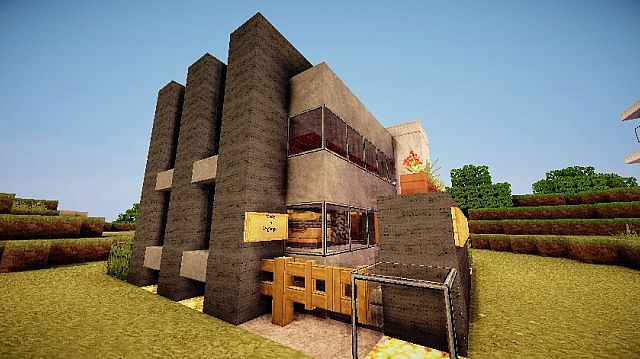 Pigonge's Contemporary Survival House 3 minecraft 2