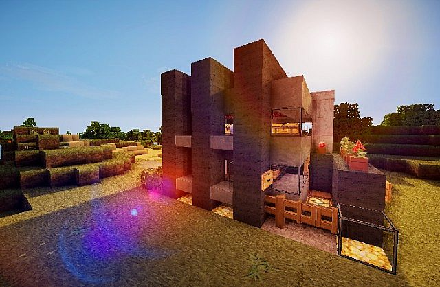 Pigonge's Contemporary Survival House 3 minecraft 4