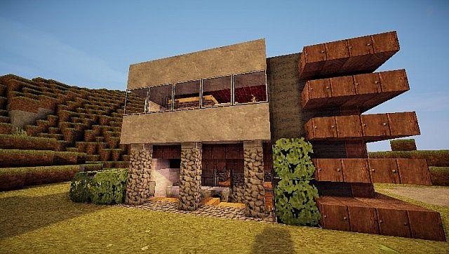 Pigonge's Contemporary Survival House 3 minecraft 5
