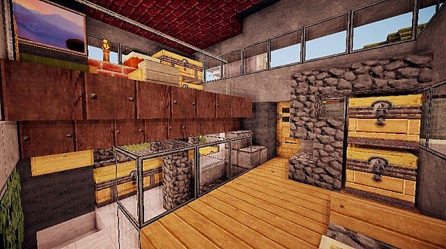 Pigonge's Contemporary Survival House 3 minecraft 8