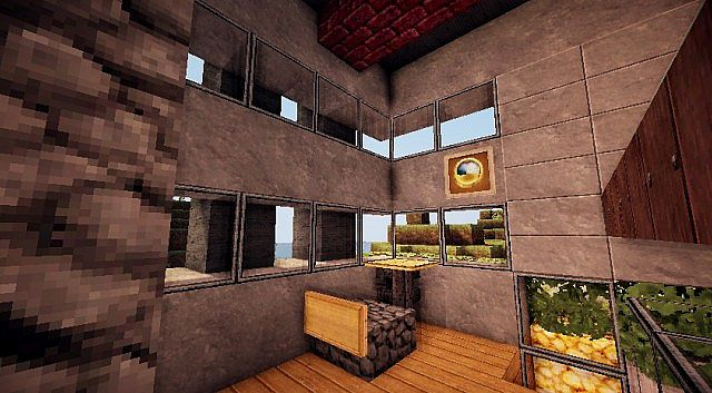 Pigonge's Contemporary Survival House 3 minecraft 9